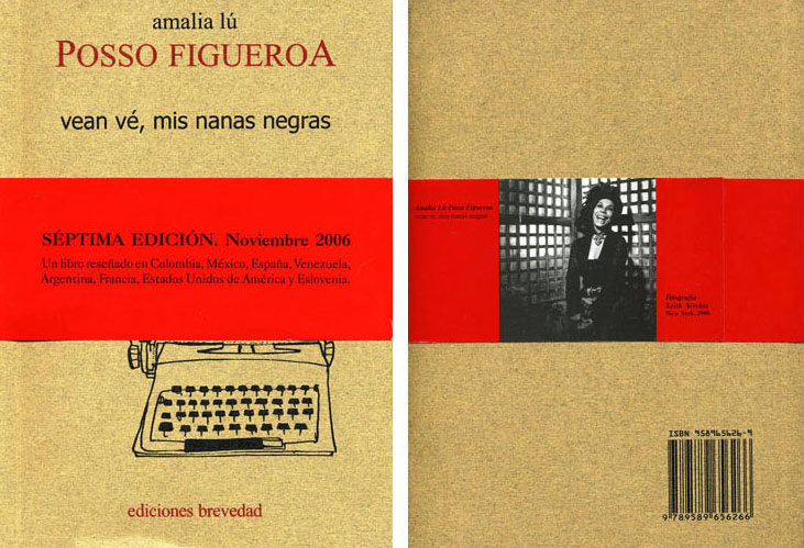 Amalia Lu Posso Figueroa, Author Jacket Photo