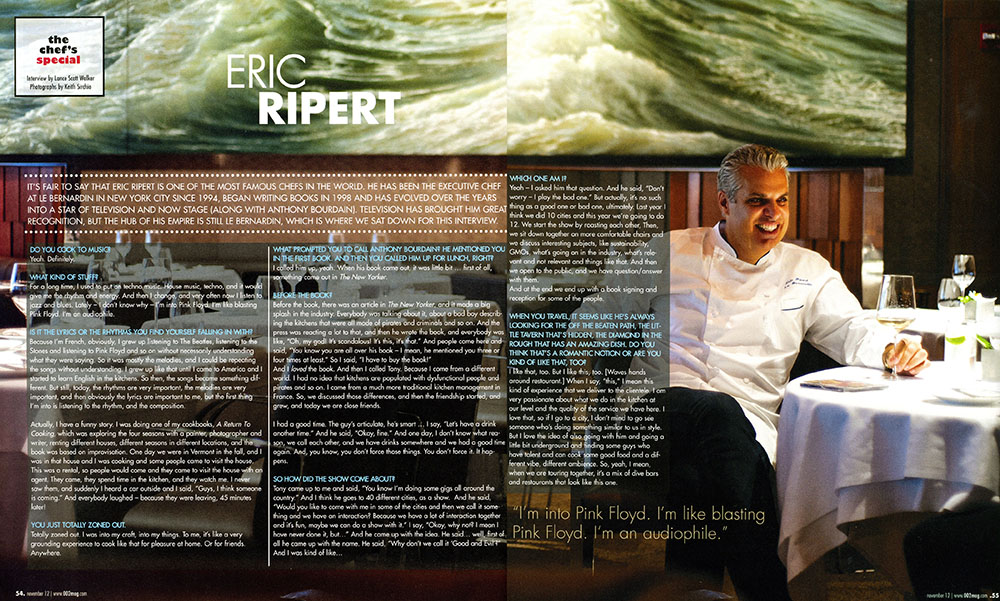 Houston 002, featuring Eric Ripert