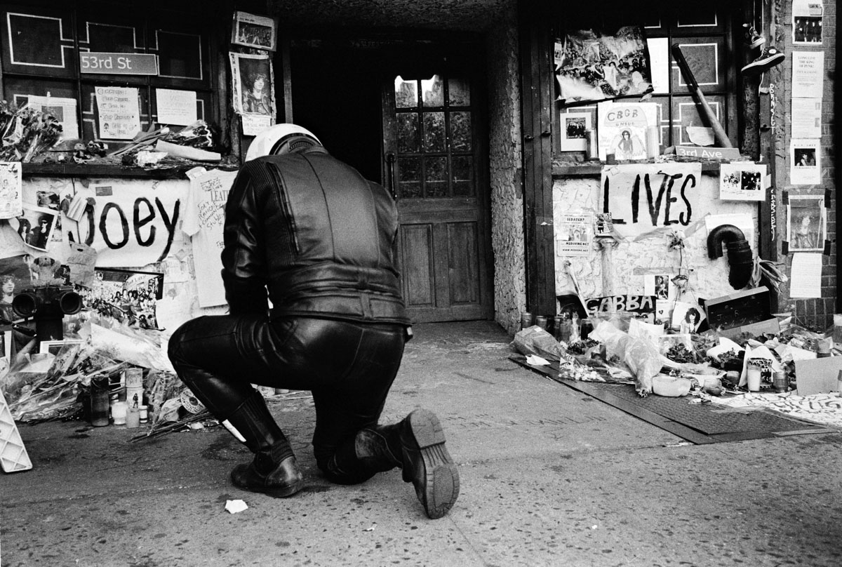 Joey Ramone Shrine at CBGB's