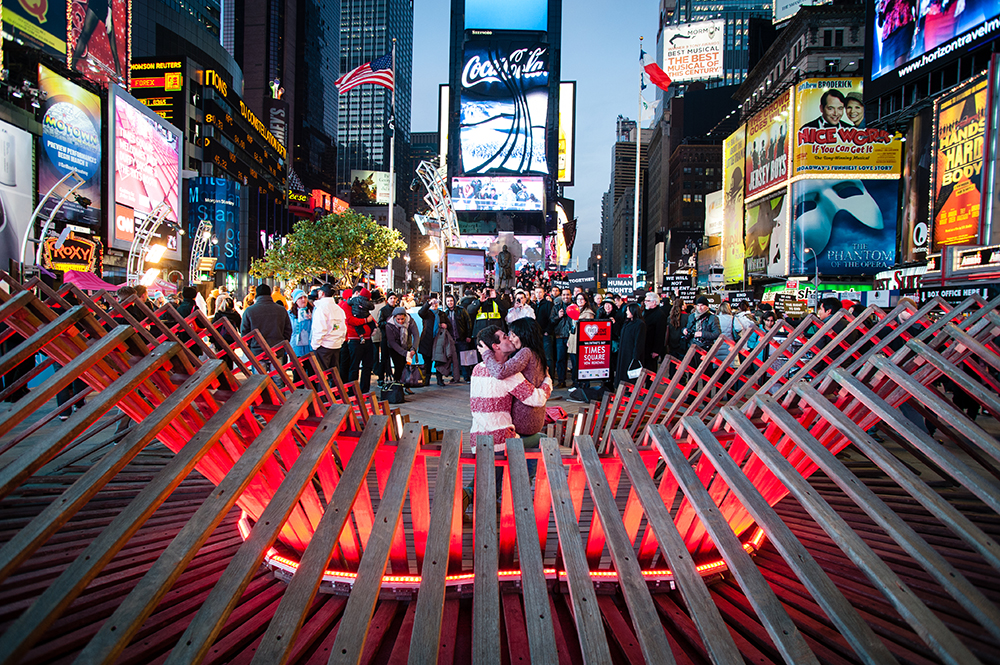 Heartwalk, Times Square: Situ Studio